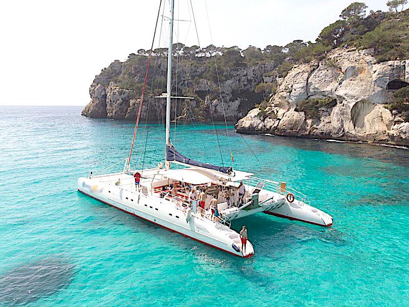 Tageskatamaran Menorca