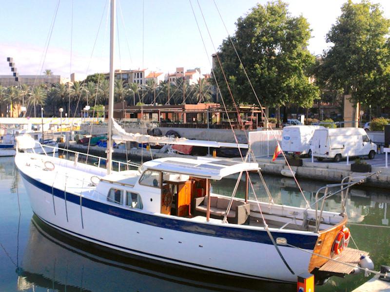 16m Segelyacht Palma Liegpaltz
