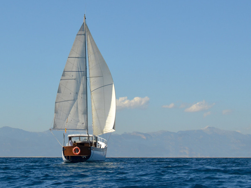 16m Segelyacht Palma segeln