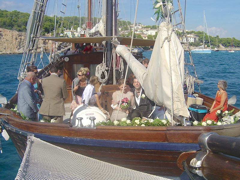 Hochzeit an Bord