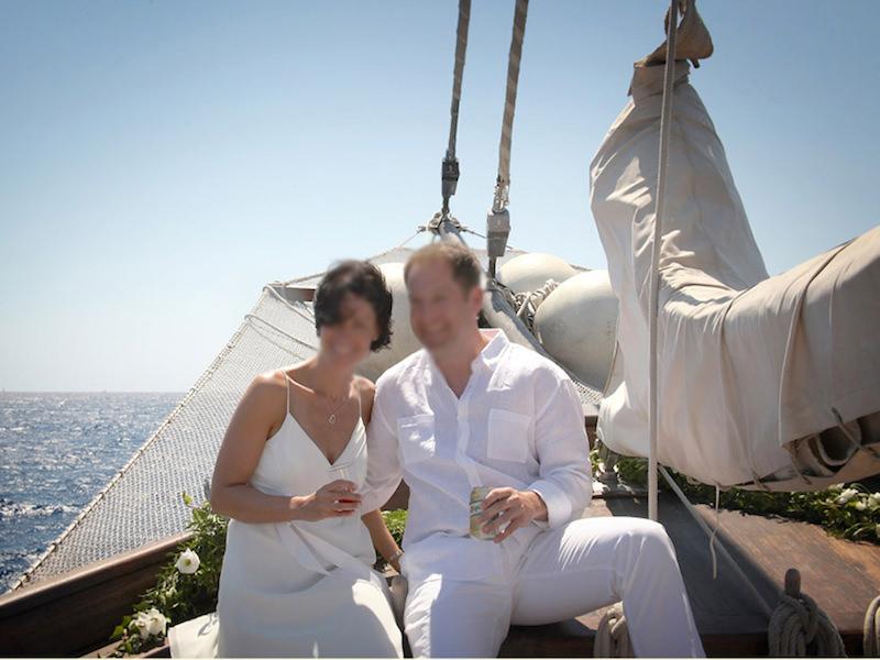 Hochzeit auf Traditions-Segler