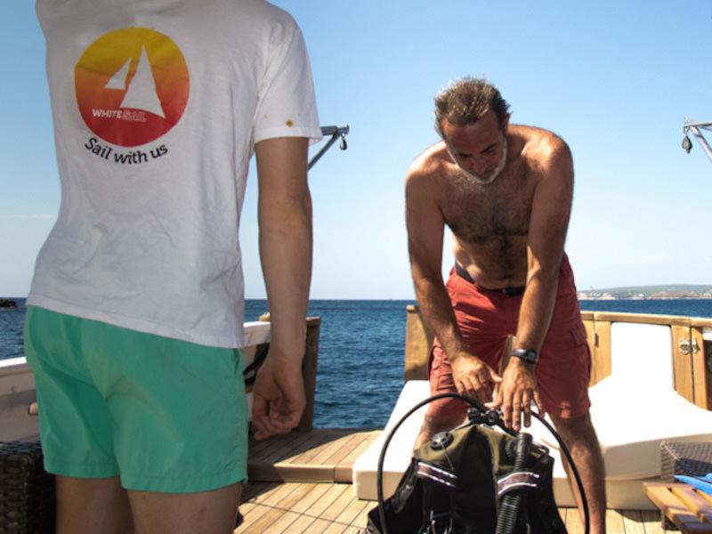 Segelyacht Palma Dive