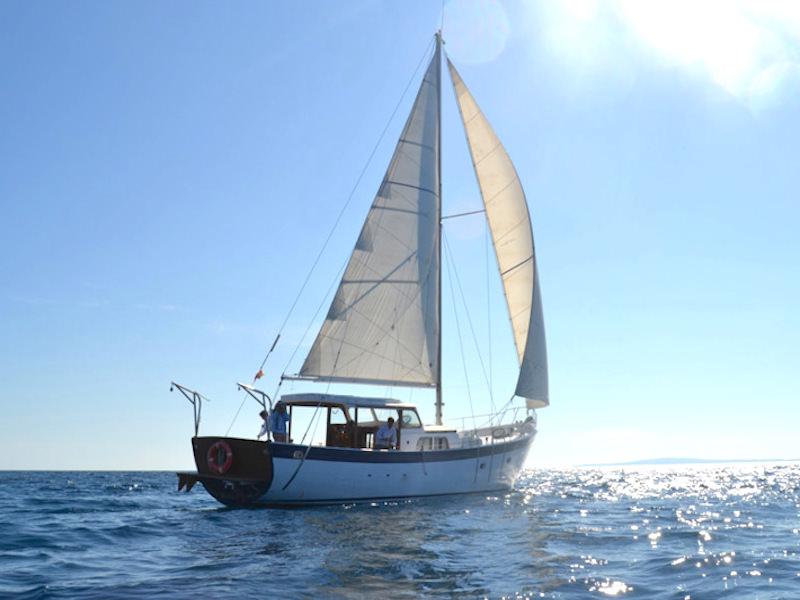 Segelyacht Palma unter Segeln