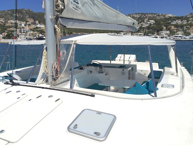 Vorschiff Katamaran Mallorca