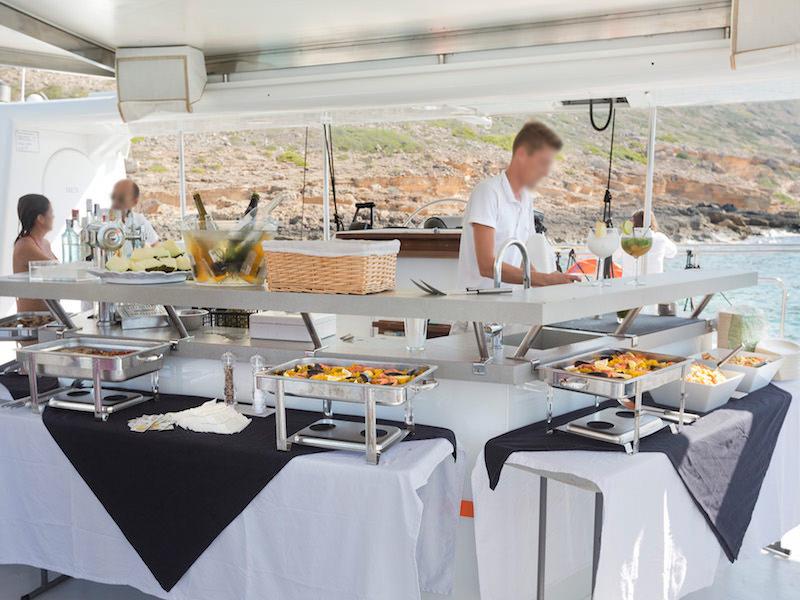 Catering für Ihr Katamaran Event
