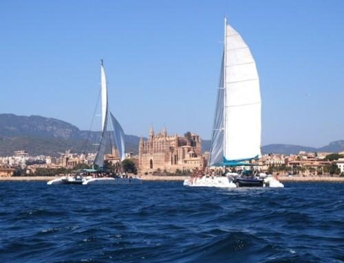 Palma de Mallorca für die großen Katamarane