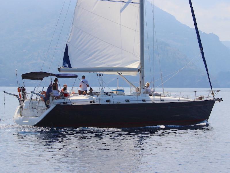 Segelyacht 50Fuss