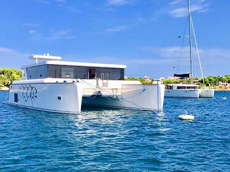 Luxus Katamaran Mallorca