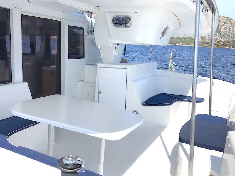 Katamaran Cockpit