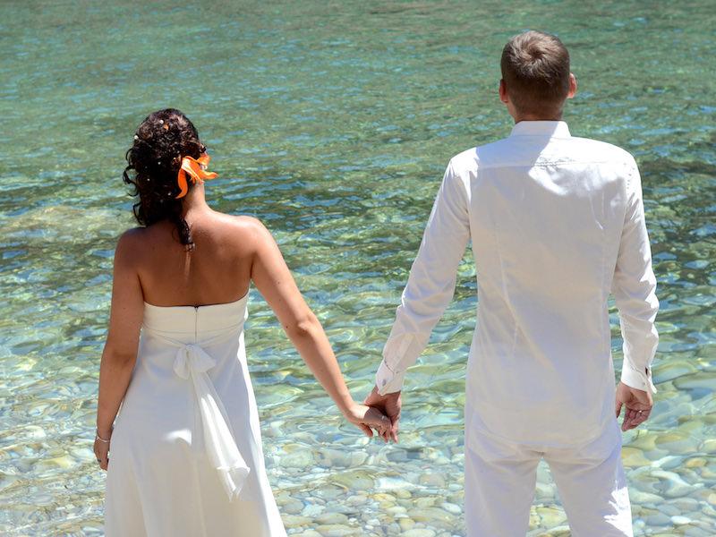Hochzeitsfeier Mallorca Katamaran
