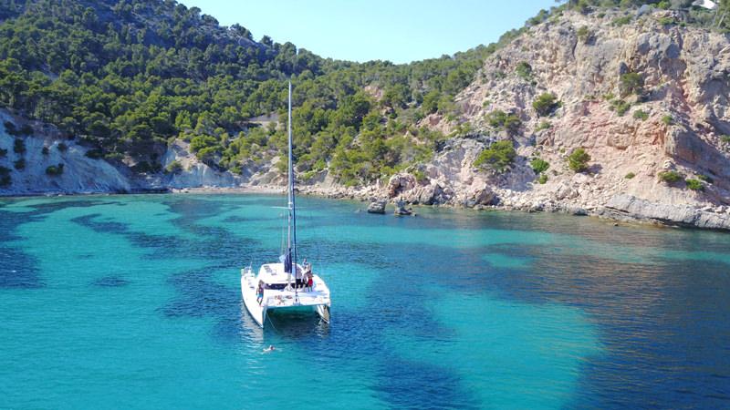 Segel Katamaran Mallorca